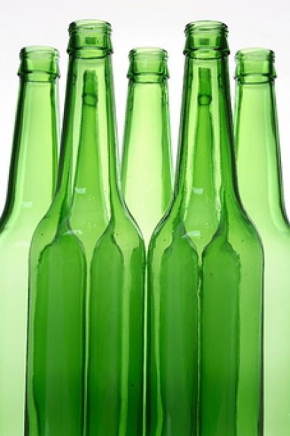bebida en vidrio