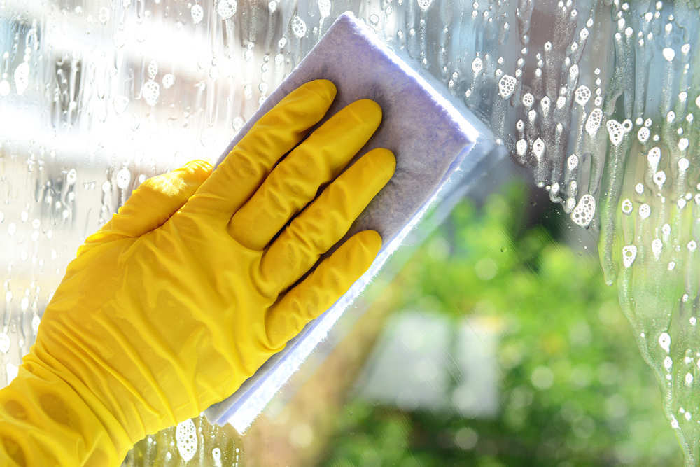 Limpiar vidrios como un profesional