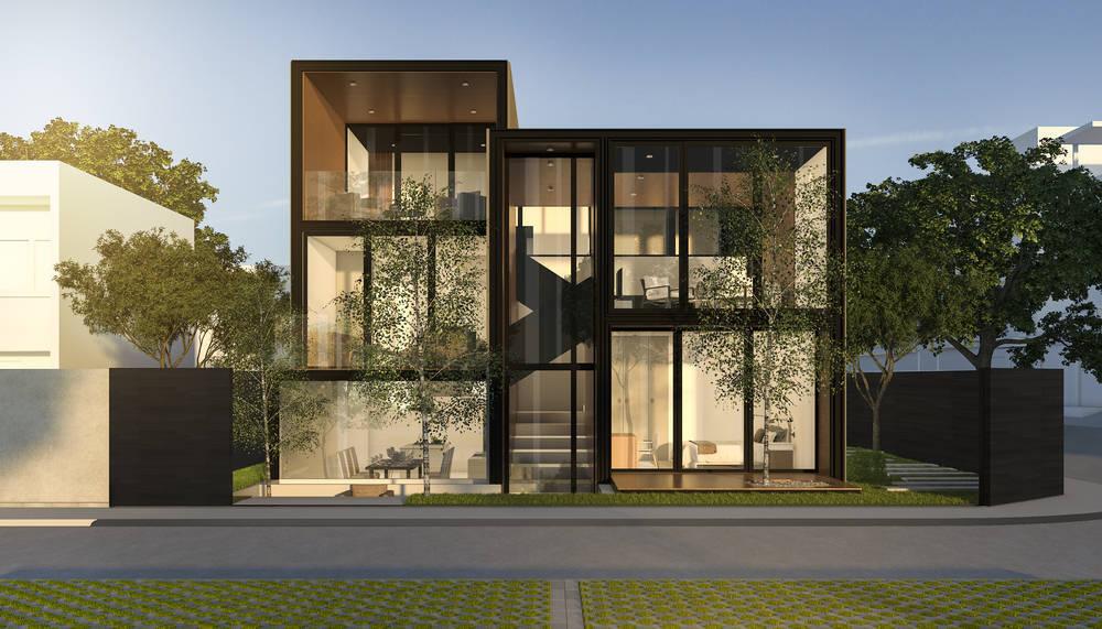 Casas de Cristal: viviendas que se integran con su Entorno