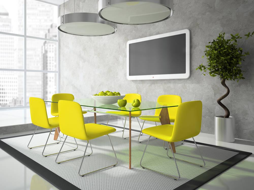 Consejos para limpiar muebles de vidrio