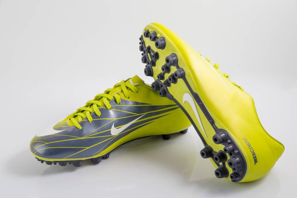 Zapatillas deportivas con suela de fibra de vidrio